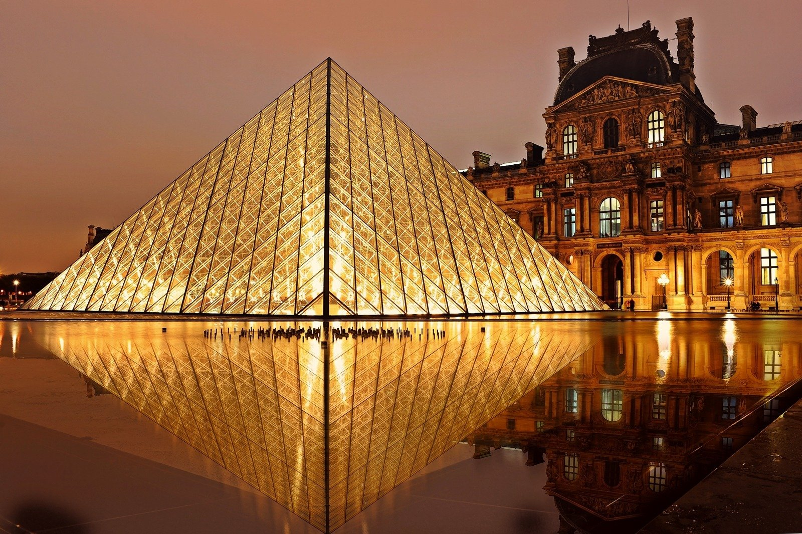 Dilts Pyramid – Not the Louvre, but great for personal and business vision, or revision