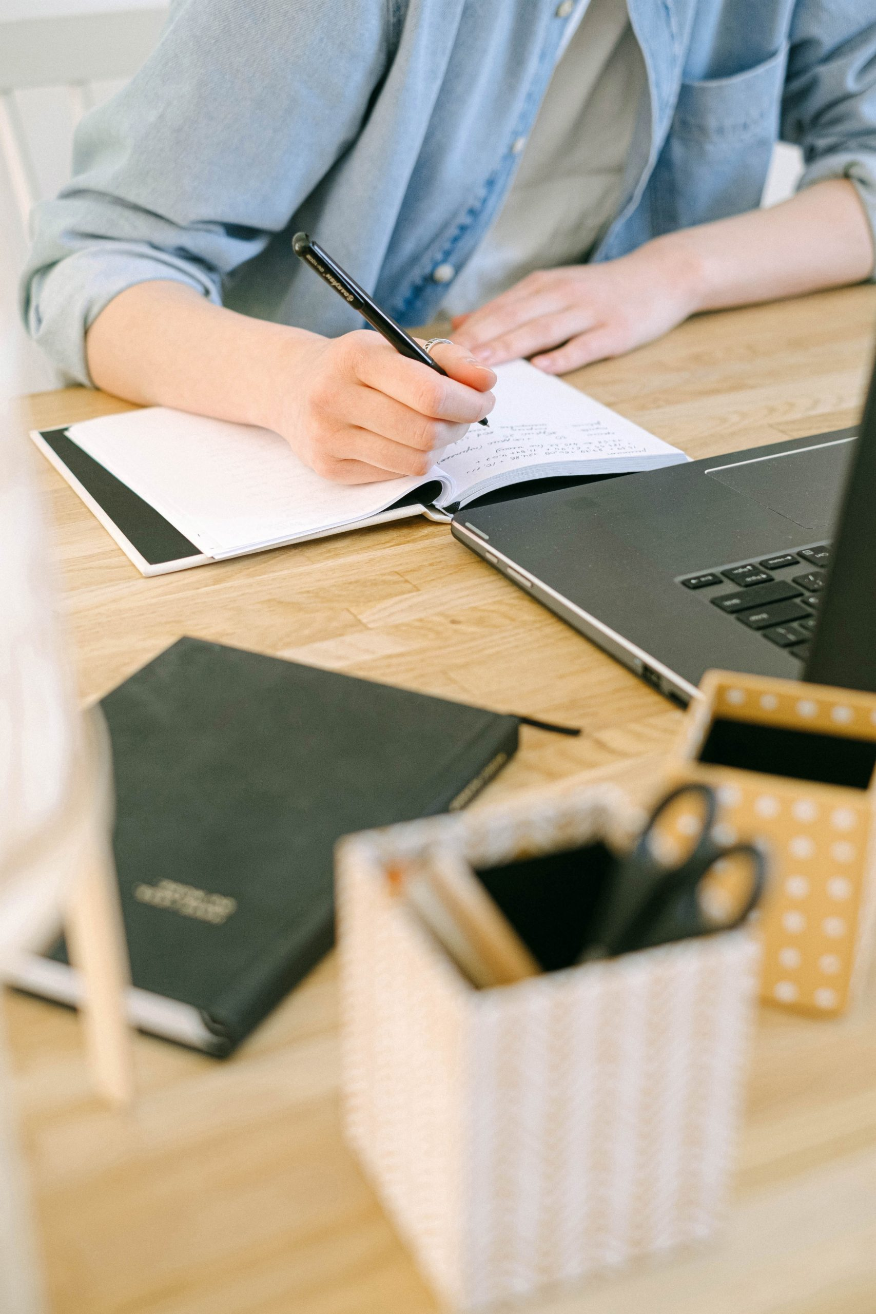 A Business Journal in Three Easy Steps